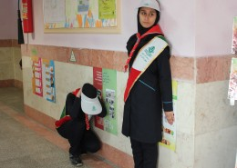 17th National Earthquake and Safety Drill was implemented in Schools