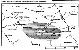 Garrus-Takht-i Sulaiman Earthquake of 04 July 1880, Mw5.6