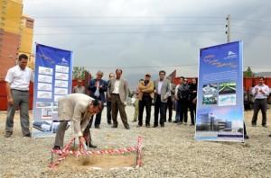 مراسم افتتاح شروع ساخت آزمایشگاه پیشرفته مهندسی زلزله