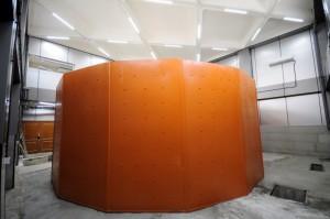 اتاقک فولادی–بتنی دستگاه سانتریفیوژ پس از اتمام