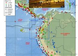 گزارش زمین لرزه 29 فروردین 1395 (16 آوریل 2016) موئیسنه - ساحل شمال باختری اکوادور با بزرگای Mw=7.8