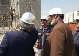 بازدید معاون وزیر و رئیس سازمان مدیریت بحران از آزمایشگاه پیشرفته مهندسی زلزله