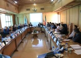 معاونین عمرانی و مدیران کل مدیریت بحران استان¬های منتخب در دوره آموزشی «مدیریت خطرپذیری زلزله» شرکت نمودند