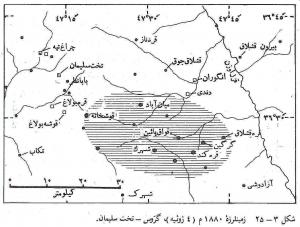 زمینلرزه 14 تیر 1259 ( 4 ژوئیه 1880) گرّوس تخت سلیمان