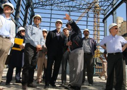 95.7.5 بازدید معاون مدیریت سازمان برنامه بودجه از سوهانک
