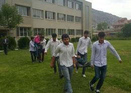 اولین مانور زلزله و ایمنی  در یکی از مدارس شهر کابل برگزار گردید