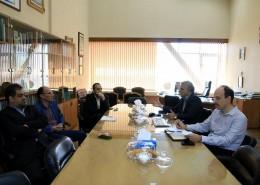 جلسه ای مشترک زمینه های همکاری پژوهشگاه و جمعیت هلال احمر