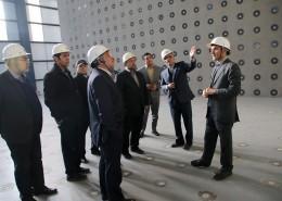 بازدید رییس شورای شهر تهران از پژوهشگاه و آزمایشگاه پیشرفته مهندسی زلزله